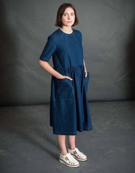 Merchant & Mills Patterns Sewing Pattern, Ellis & Hattie Dress