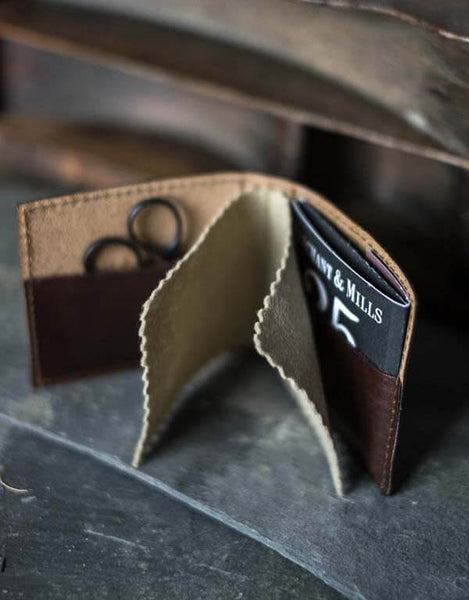 Leather Needle Wallet, Merchant & Mills