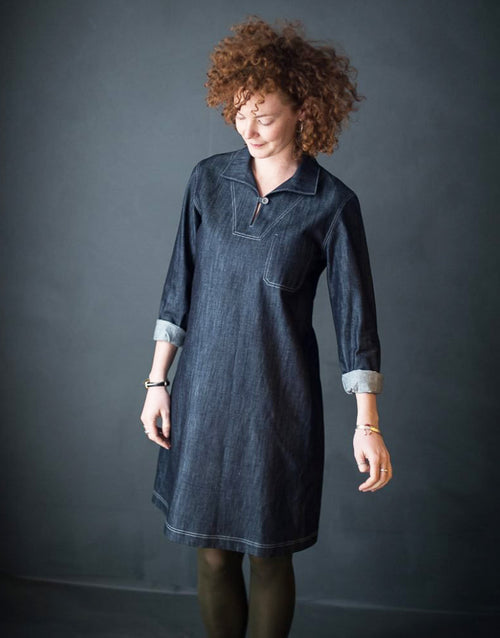 The Francine Dress & Top, Merchant & Mills Patterns Sewing Pattern