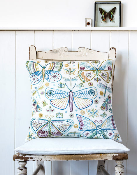 Nancy Nicholson Embroidery Stitch Kit, Butterflies
