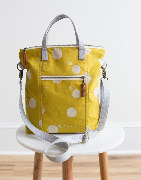 Redwood Tote Bag Sewing Pattern, Noodlehead