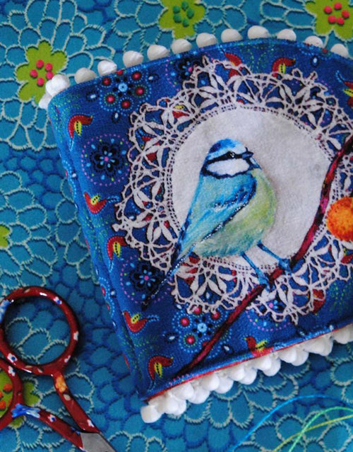 Bird Needle Case, Odile Bailloeul Sewing Kit