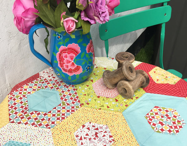 Hexagon Quilt Workshop, 4 Week Course | Chichester Quilting Course