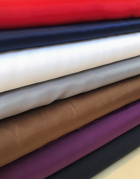Dress Lining Fabric, Various Colours