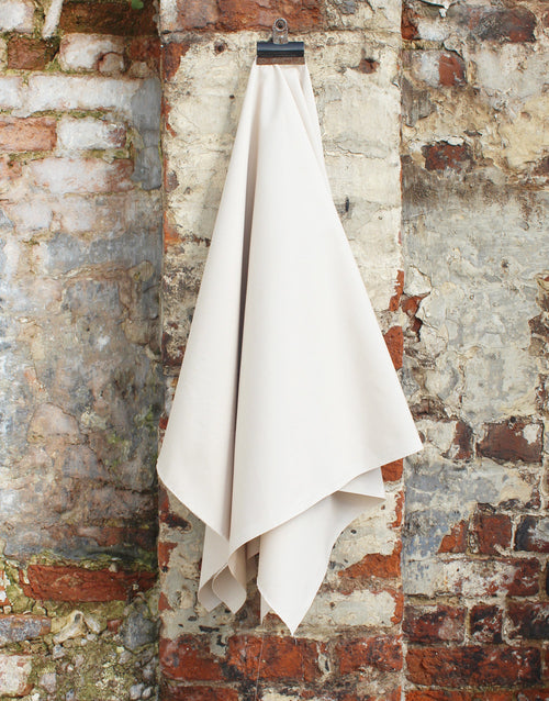 Plain Cotton Poplin Fabric, Beige