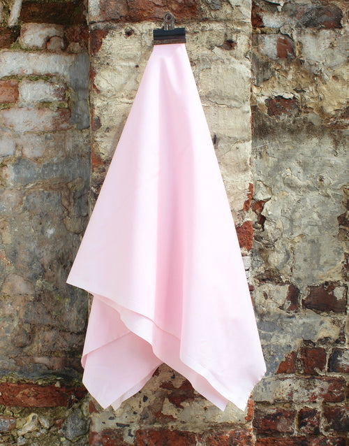 Plain Cotton Poplin Fabric, Light Pink