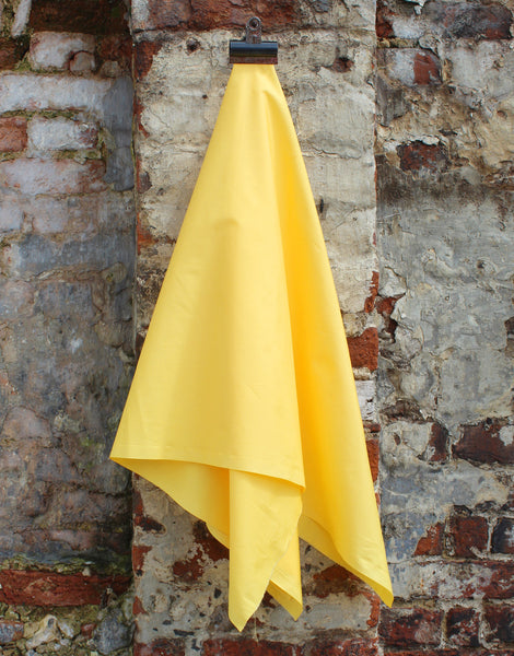 Plain Cotton Poplin Fabric, Yellow