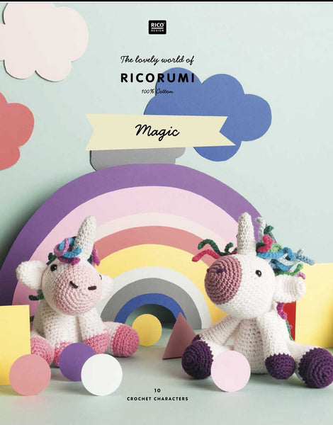 Ricorumi Crochet Magic Pattern Book, Rico