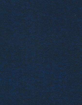 Navy Herringbone Shetland Flannel Fabric, Robert Kaufman