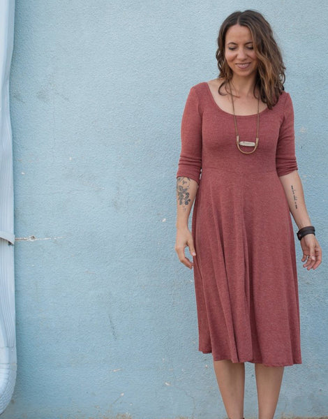 Statsia Dress, Sew Liberated Sewing Pattern