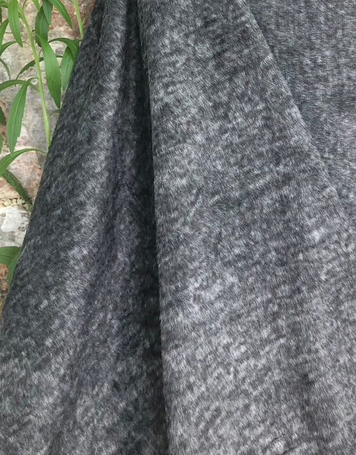 Anthracite Grey Fleece Fabric