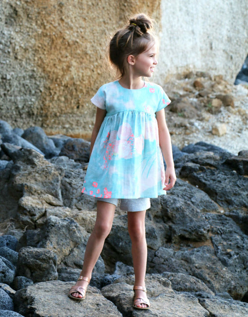 Feliz Dress & Blouse, Straightgrain Girl's Sewing Pattern