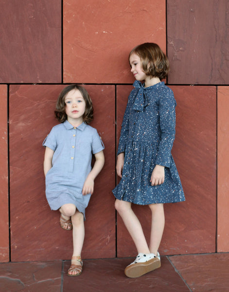 Ume Shirt Dress, Straightgrain Girl's Sewing Pattern