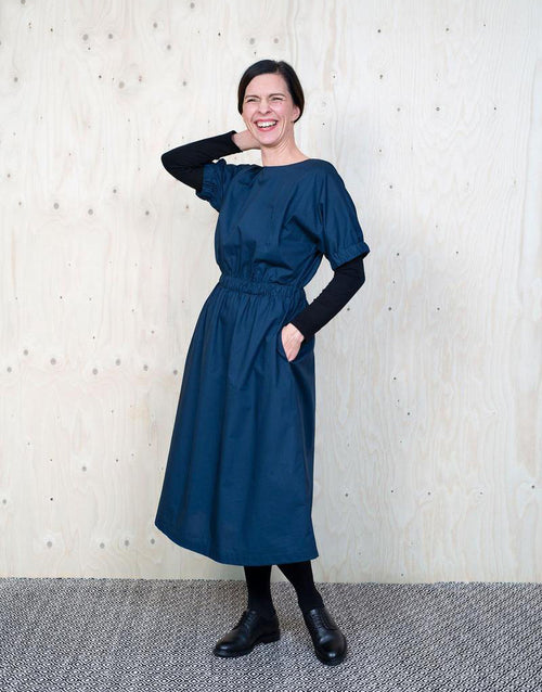 Cuff Dress, The Assembly Line Sewing Pattern