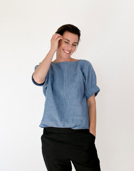 The Assembly Line Sewing Pattern, Cuff Top