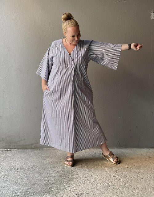 Kaftan Dress, The Assembly Line Sewing Pattern
