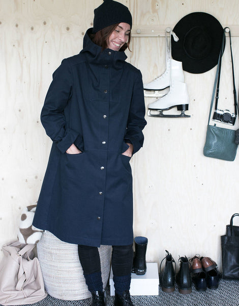 The Assembly Line Sewing Pattern, Hoodie Parka Coat