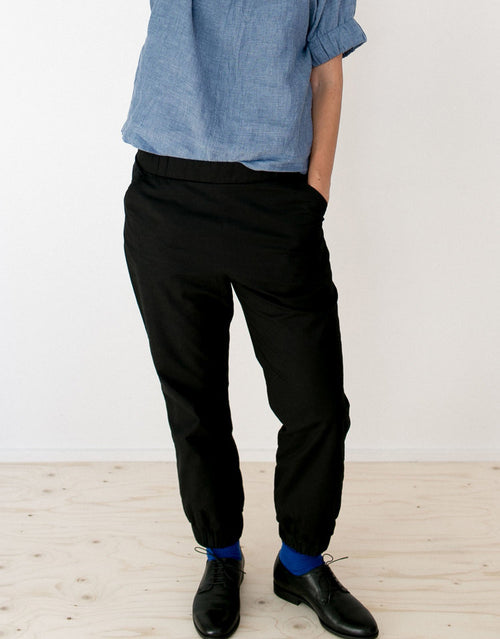 The Assembly Line Sewing Pattern, Almost Long Trousers