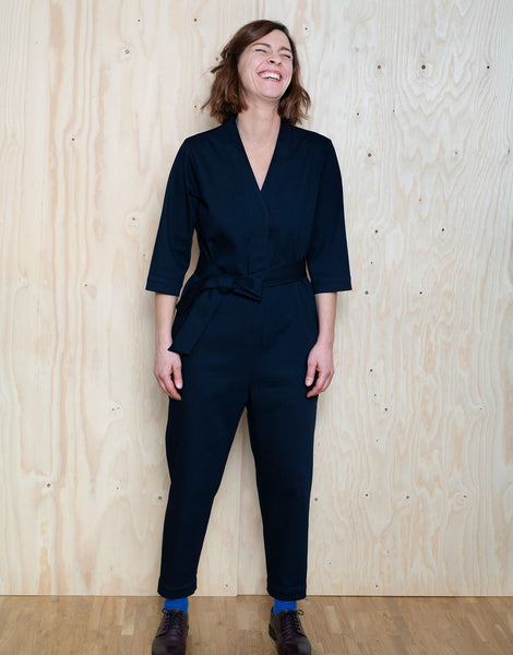 V-Neck Jumpsuit, The Assembly Line Sewing Pattern