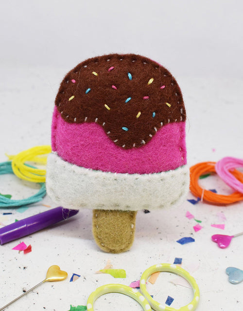 Lush Lolly Felt Sewing Kit, The Make Arcade
