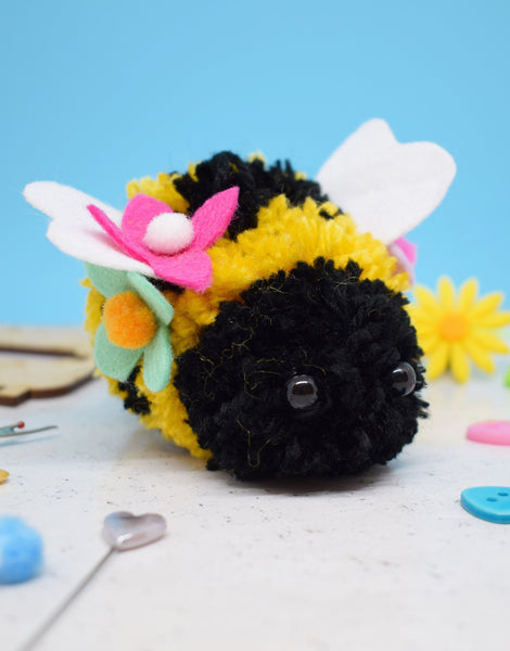 Bjorn the Bee Pom Pom Making Kit, The Make Arcade