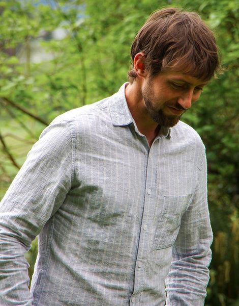 Fairfield Button-up Men's Shirt Sewing Pattern