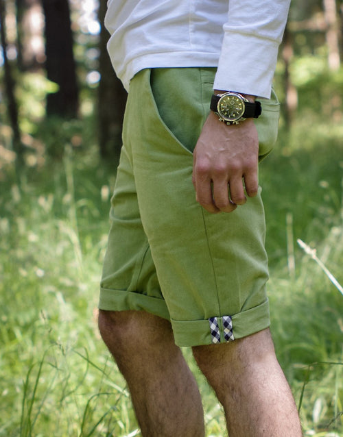 Jedediah Men's Chino Shorts & Trousers Sewing Pattern