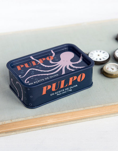 Octopus Storage Tin