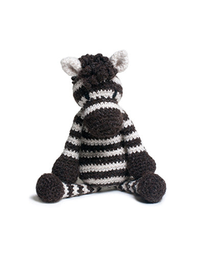 Alice the Zebra, Crochet Kit from Toft Edward's Menagerie