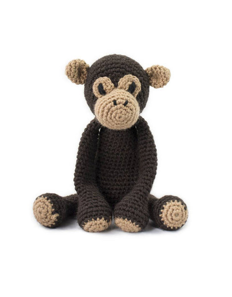 Benedict the Chimpanze, Crochet Kit from Toft Edward's Menagerie