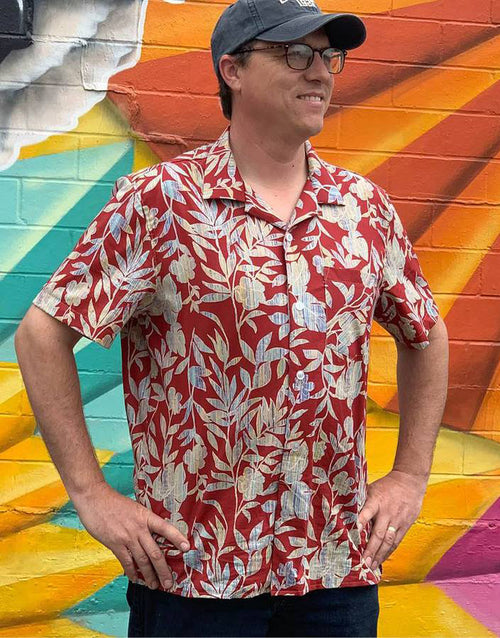 Tropical Shirt, Wardrobe by Me Men's Sewing Pattern