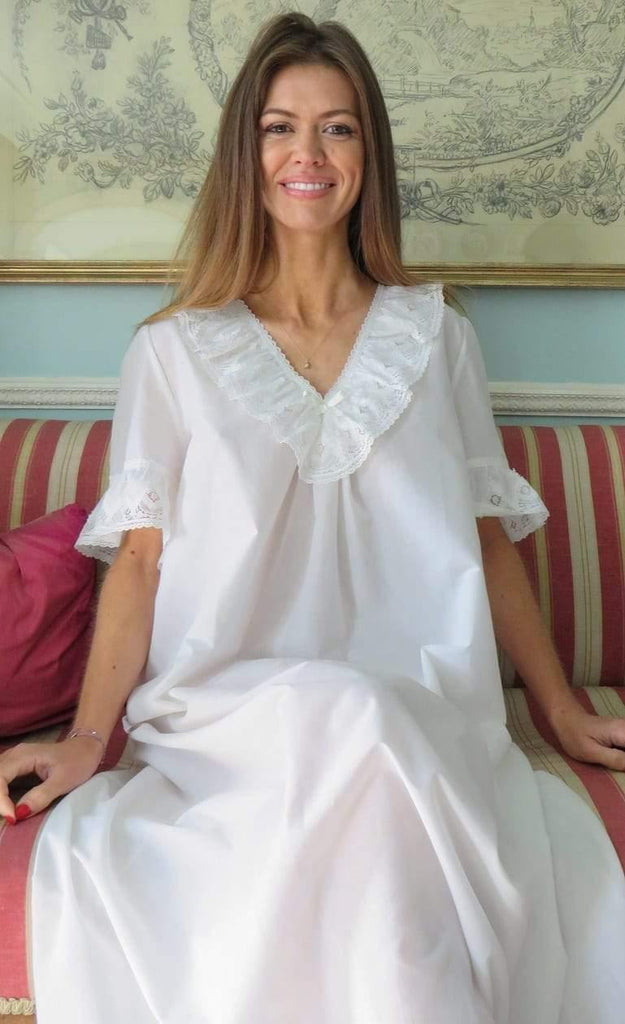 Alyssa Ladies Cotton Lawn Nightie Tuttabankem