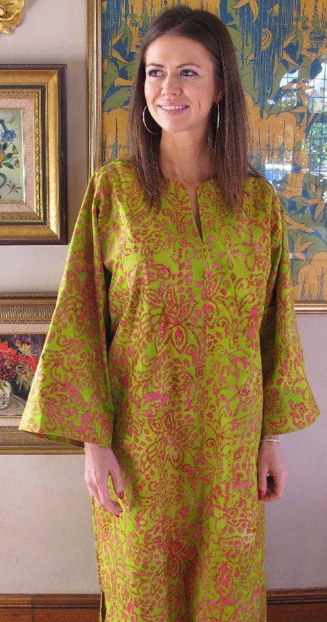 Dixie Cotton Kaftan