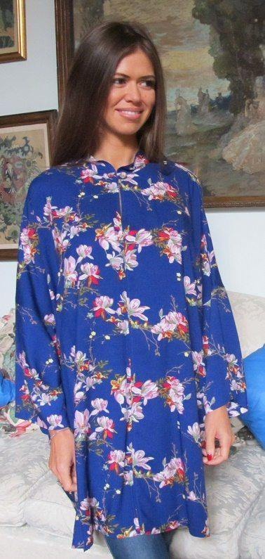 Fiona Tunic Royal Blue Tuttabankem