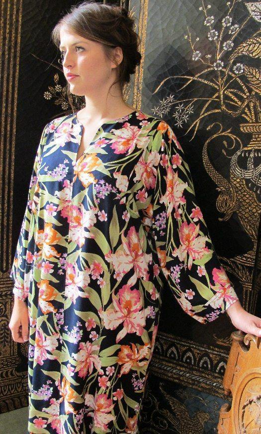 Long Lisa Viscose Kaftan Tuttabankem