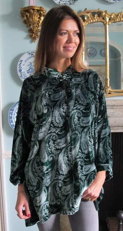 Venezia Ladies Silk Velvet Top Tuttabankem