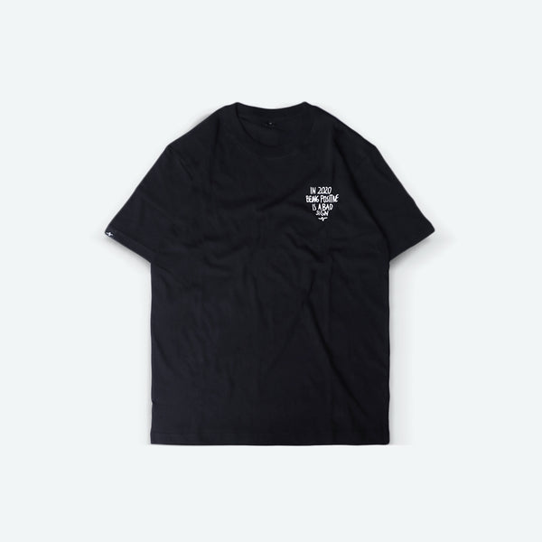 Catharsis Positive Tee Black