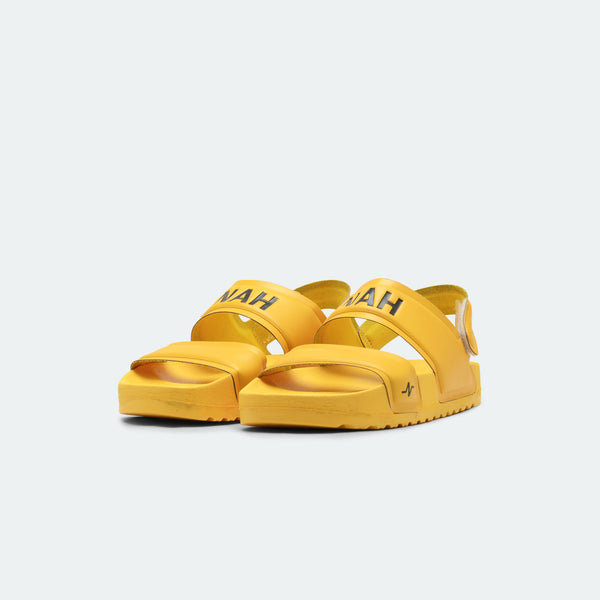 Laze Sandals Backstrap Yellow