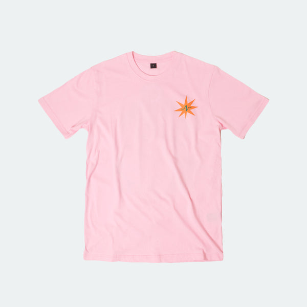 (+62) Tee Hold My Hands Light Pink