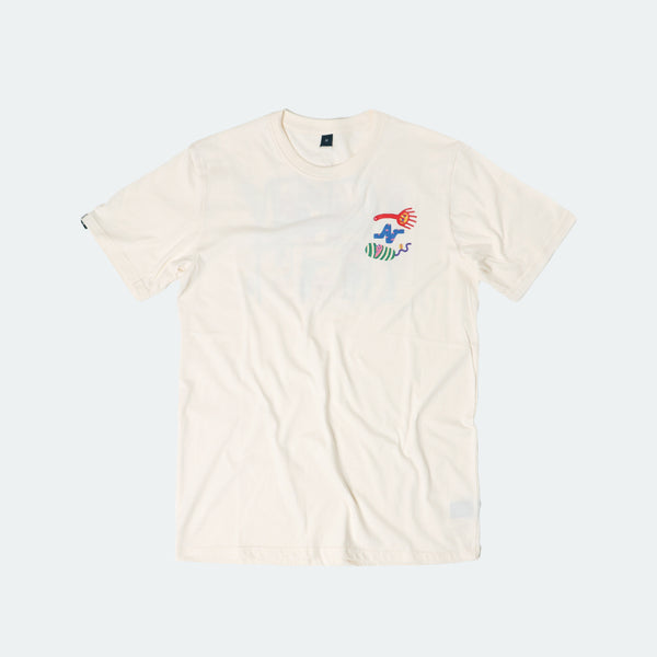 (+62) Tee Happy Place Ivory