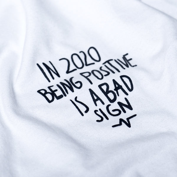 Catharsis Positive Tee White