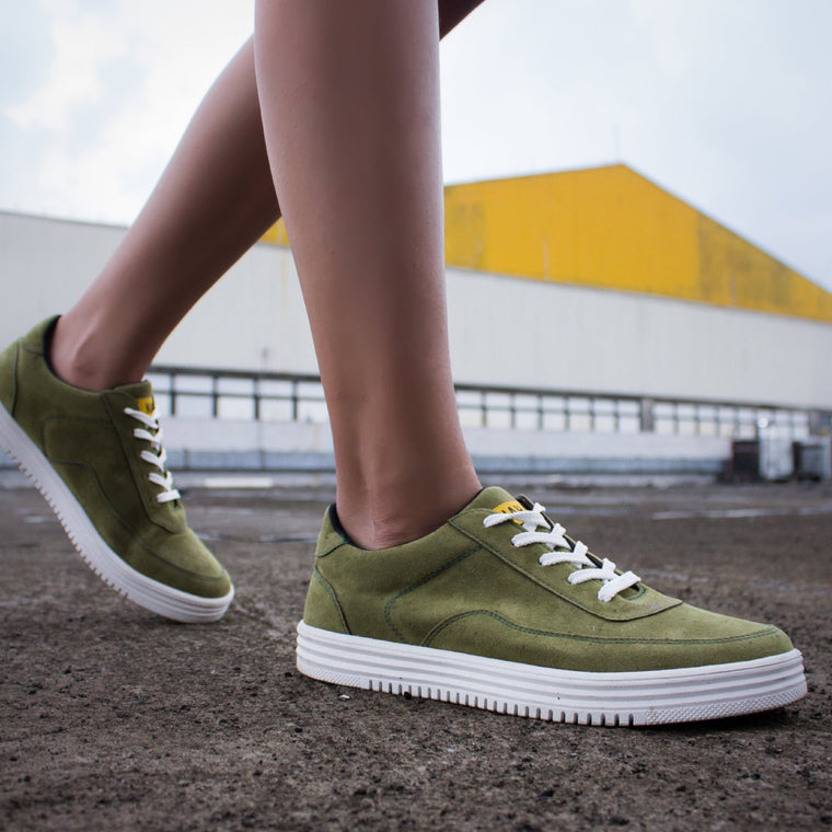 SN-05 Suede Olive