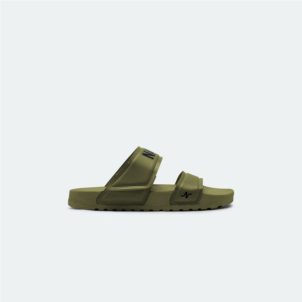 Laze Sandals Army Green