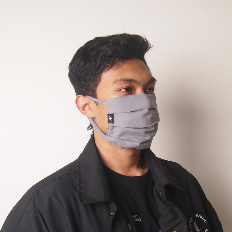 NAH Basic Mask (Available in Black and Grey)