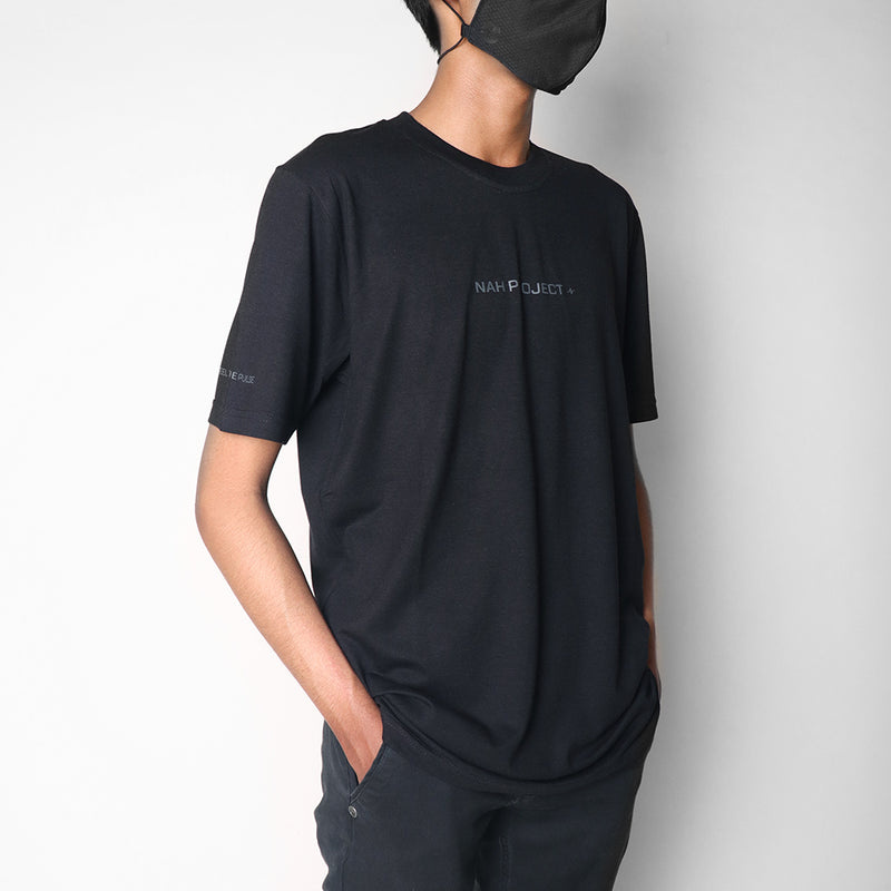 Basic Tee Ecobreeze Black