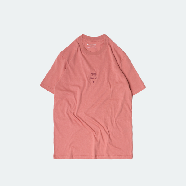 Basic Pulse Tee Coral