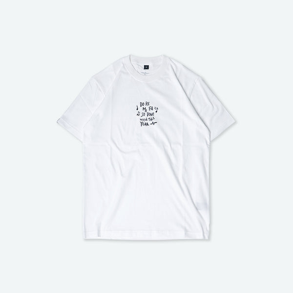 Catharsis Done Tee White