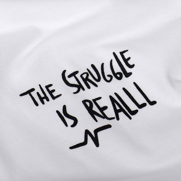 Catharsis Struggle Tee White