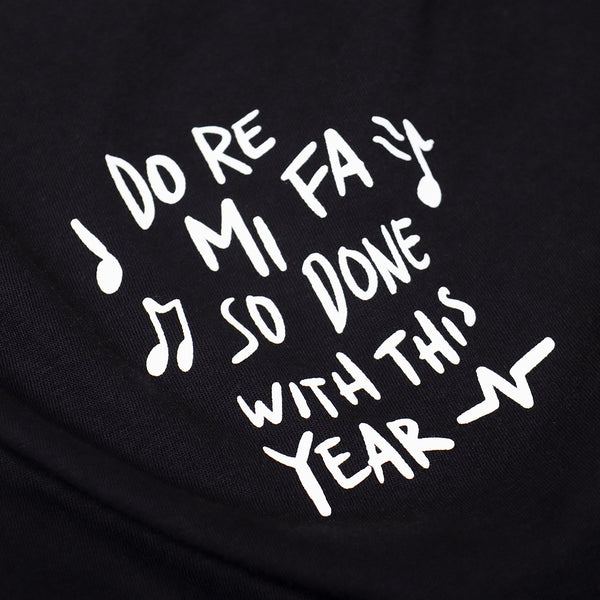 Catharsis Done Tee Black