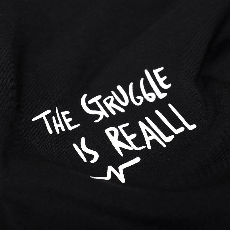 Catharsis Struggle Tee Black